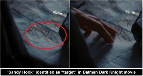 Batman sandy hook